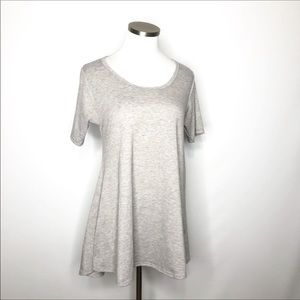 LuLaRoe Gray Perfect Tee